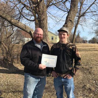 Josh VanLuik - Minnewaska Wrestling Club scholarship