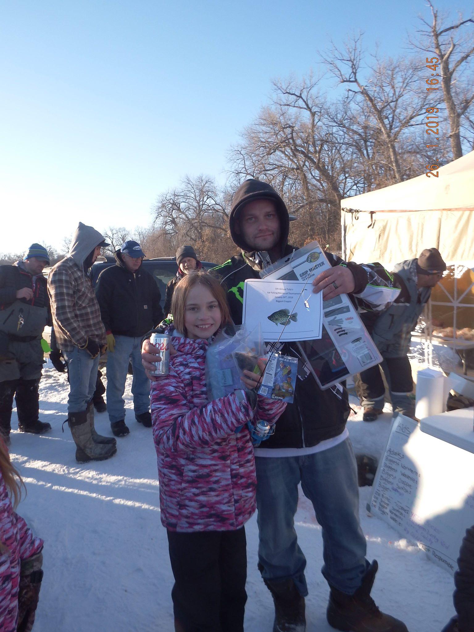 Anthony Tullis Ice Fishing Memorial